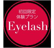 初回限定Eyelash体験プラン